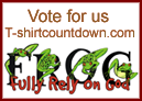 LifeDesign Christian t-shirts & gifts - Fully Rely on God - vote for this site